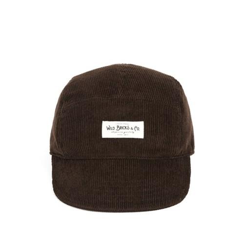 PL CORDUROY CAMP CAP (brown)