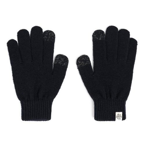 AW BASIC TOUCH GLOVES (navy)