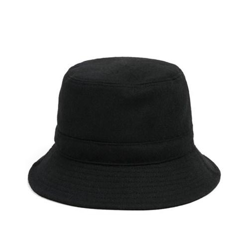 MELTON WOOL BUCKET HAT (black)