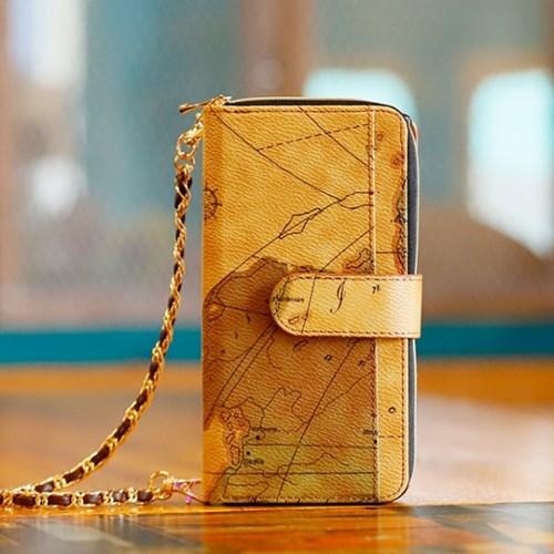 갤럭시노트10플러스 (N975) Mapa2-H 지퍼 지갑 다이어리 케이스
