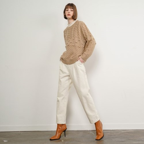 Ian Cotton Wide Pants_Ivory_(35906)