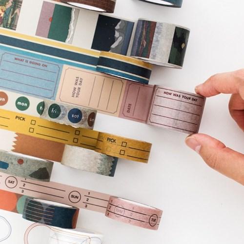 [B급]라이프앤피시스 페이퍼 테이프 15mm (11종)