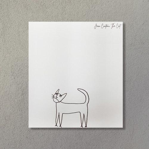 [명화굿즈] 장 콕토 고양이 The cat 명화 떡메모지