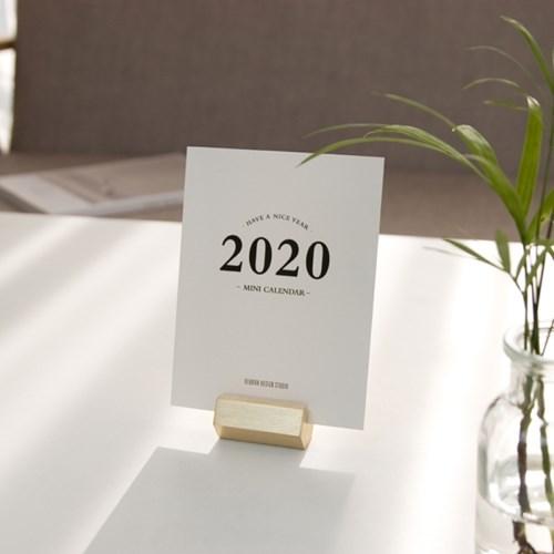 2020년 미니 탁상용 달력(각인가능)