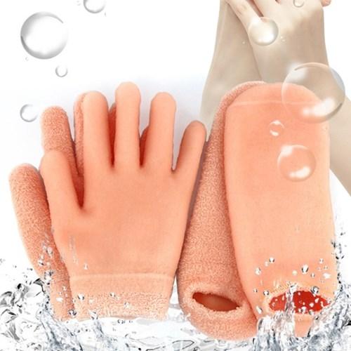 스파젤 보습 장갑&양말 / 각질관리 보습 케어 수면 손 발 팩