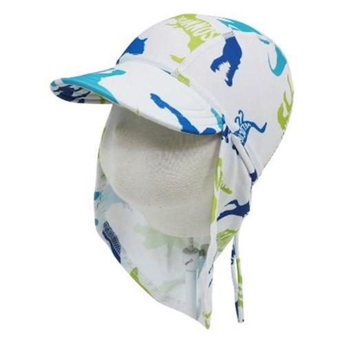 앨리빌리 디노 플랩캡(수영모자 UV차단)