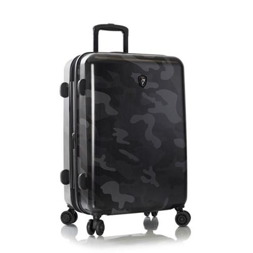 헤이즈 블랙카모 26인치 확장형 캐리어 여행가방