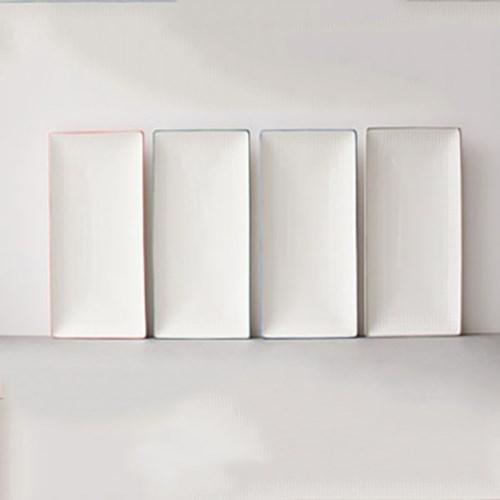 meresine 마인드터치 직사각 접시(대) - 4color
