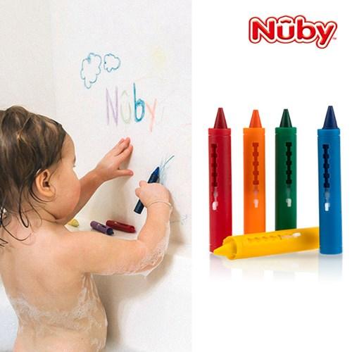 누비 아기목욕장난감 목욕 크레용(5가지 색상)/물놀이장_(2374883)