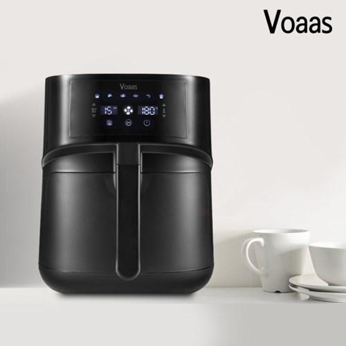 [보아스] 5.5L 대용량 디지털 에어프라이어 VO-XZ01