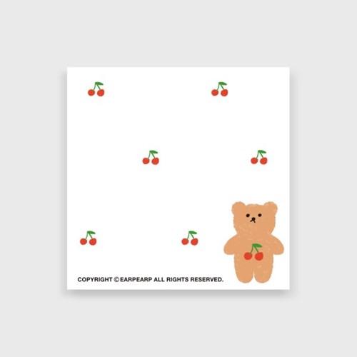 Cherry big bear(떡메모지)_(1386682)