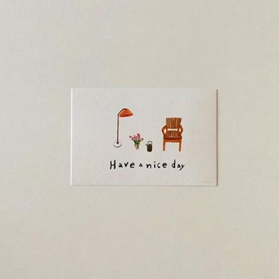 Have a nice day postcard