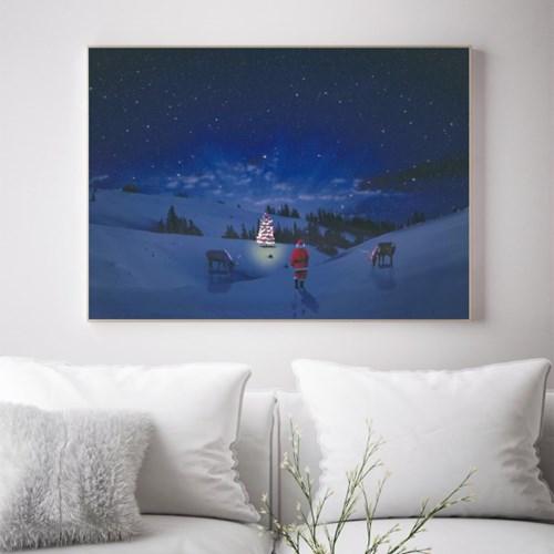 크리스마스 인테리어액자 _ 이브나이트