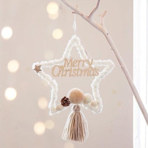 [데코봉봉]포근한 크리스마스 드림캐쳐 (별-내추럴)