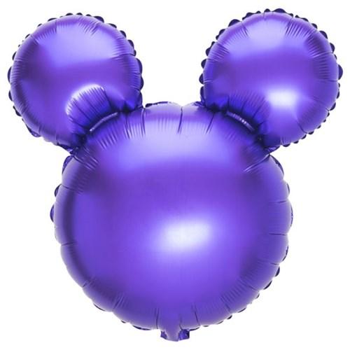 [원팩] 캐릭터은박풍선 마우스 퍼플 45x45cm_(11878695)