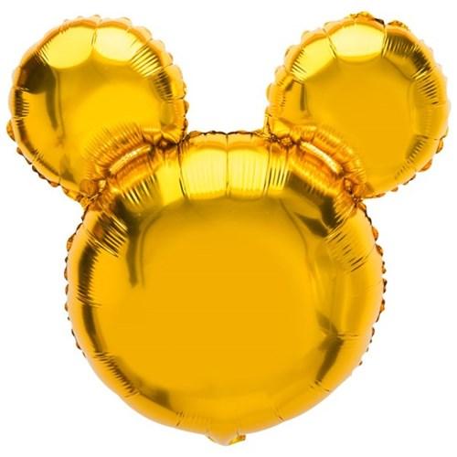 [원팩] 캐릭터은박풍선 마우스 골드 45x45cm_(11878696)