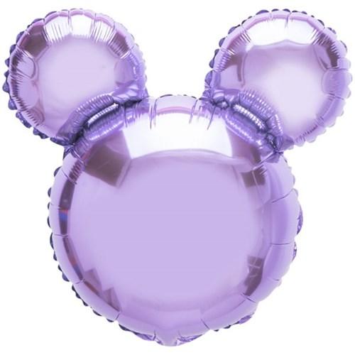 [원팩] 캐릭터은박풍선 마우스 라벤더 45x45cm_(11878697)