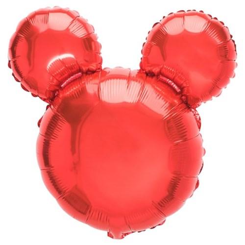 [원팩] 캐릭터은박풍선 마우스 레드 45x45cm_(11878699)