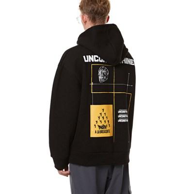 Unisex Yellow Mask HOOD BLACK