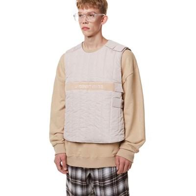 Unisex Tech Padding Vest BEIGE