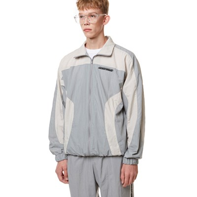 Curve training Zip-up Top GRAY