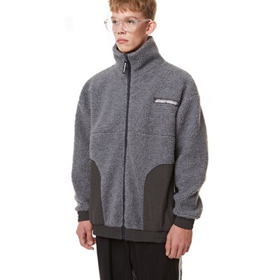 Heavy Fleece Zip-up GRAY