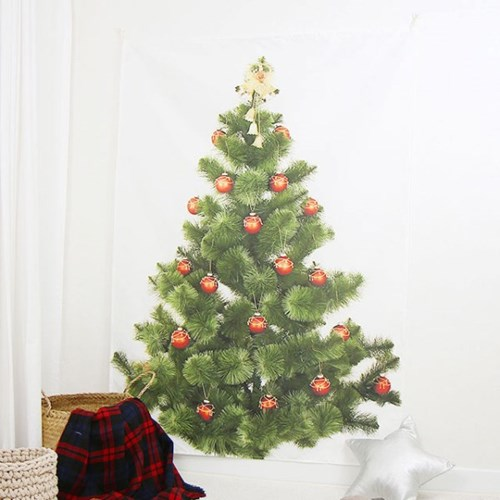 크리스마스 트리 대형 패브릭 포스터 - 2type