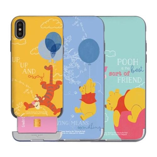 아이폰11 디즈니 곰돌이푸 벌룬 카드슬롯케이스