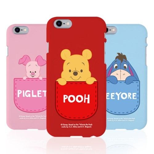 아이폰11 디즈니 곰돌이푸 포켓 컬러젤리케이스