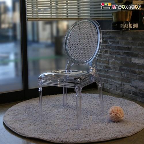 [GAWON] 노르딕 고스트체어/투명의자/인테리어의자