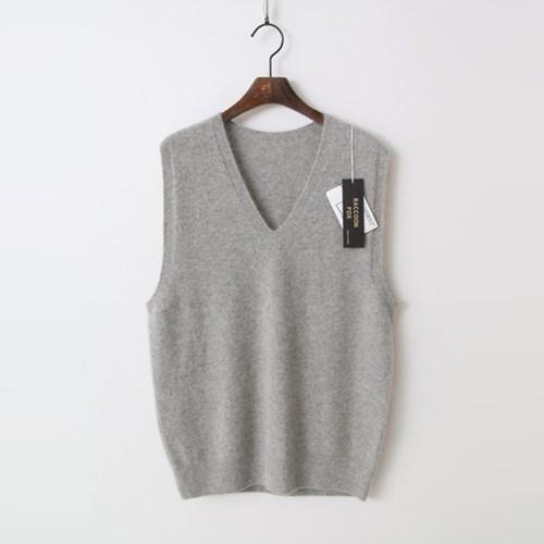 Laine Raccoon Fox N Wool Vest