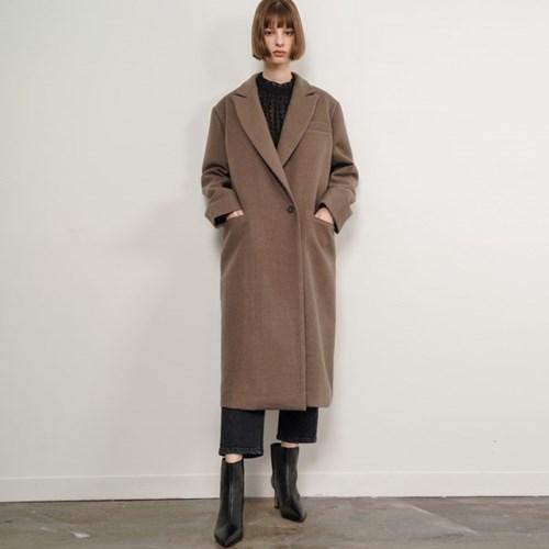 Eden Single Long Coat_Brown_(38526)