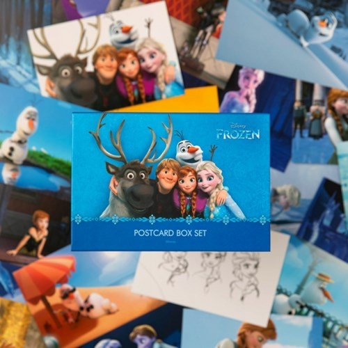 [디즈니] 겨울왕국 엽서박스세트