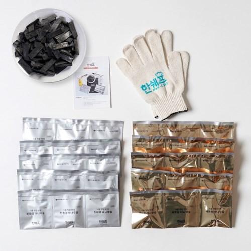 친환경 대나무 숯 (실버+골드) 30ps