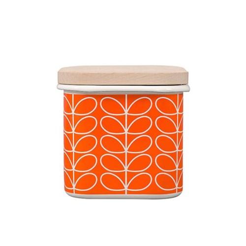 [올라카일리] 에나멜 법랑 저장 보관용기 오렌지_(1820718)