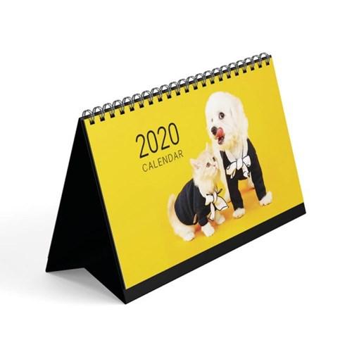 [1+1] 2020년 펫앤스토리 도그&캣 가로 탁상달력