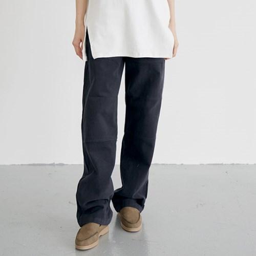 solid cotton loose pants (3colors)_(1389969)
