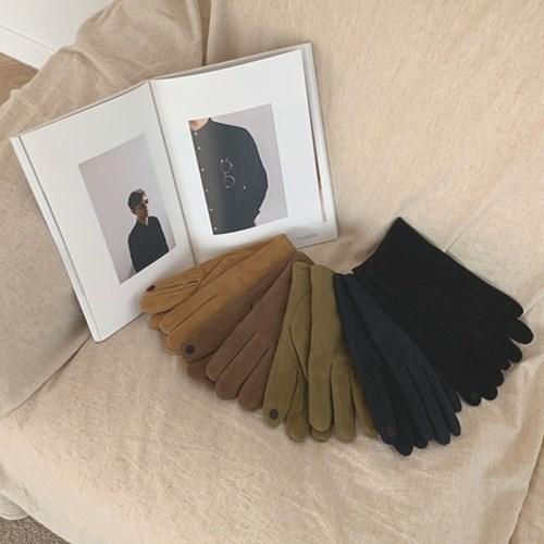 남성용 리얼 스웨이드장갑 (5color)