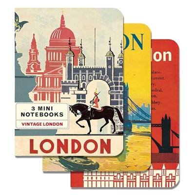 카발리니 미니 노트북 - 빈티지 런던