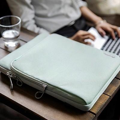 H13 서피스프로 맥북 파우치 12.3인치 그레이그린