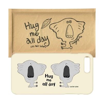 Hug me all day 하루 종일 허그미 폰케이스