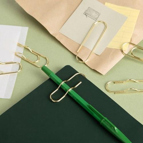 Gold Clip Pen holder