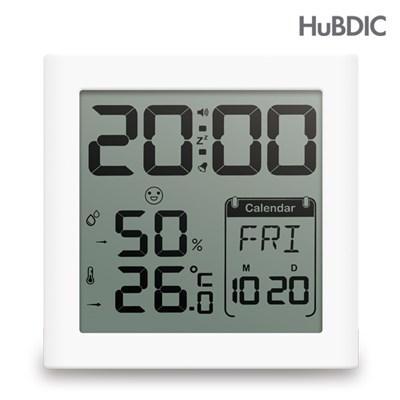 휴비딕 디지털 시계 온습도계 HT-5 달력_(1394166)