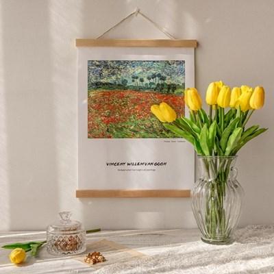 반고흐 양귀비 들판 패브릭 포스터