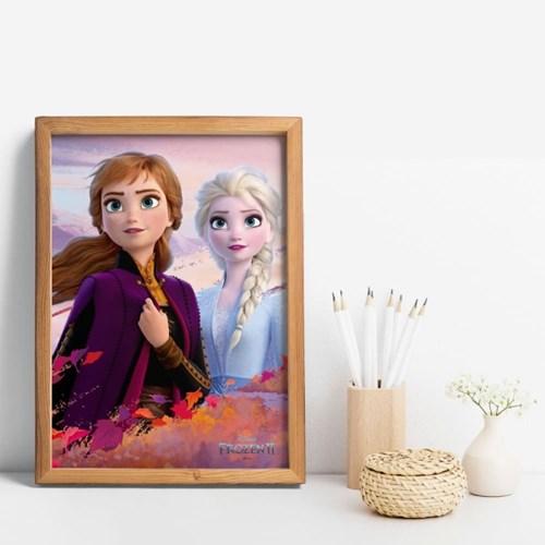 디즈니 인테리어 포스터 - 겨울왕국2 메인포스터 12종