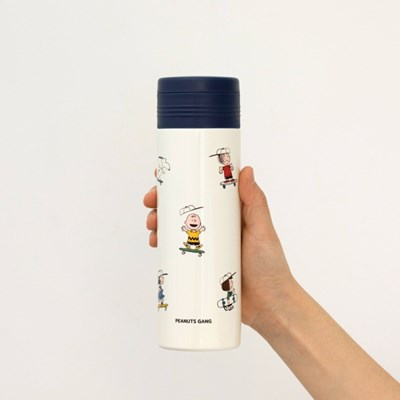 [PEANUTS] STAINLESS BOTTLE 460ml