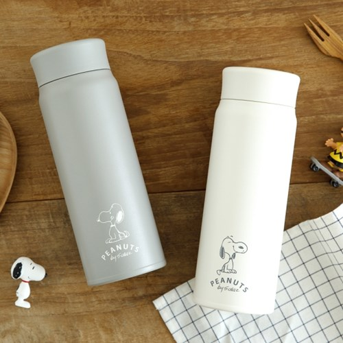 [PEANUTS] STAINLESS BOTTLE (WHITE/GRAY) 480ml 2종