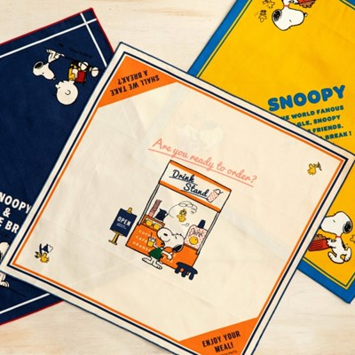 [PEANUTS] LUNCH CLOTH 3종