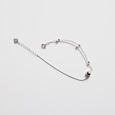 (92.5 silver) mix type bracelet