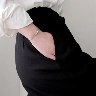 (92.5 silver) one point bracelet